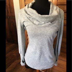 Patty Boutik Grey Cowl Neck Sweater Size Medium